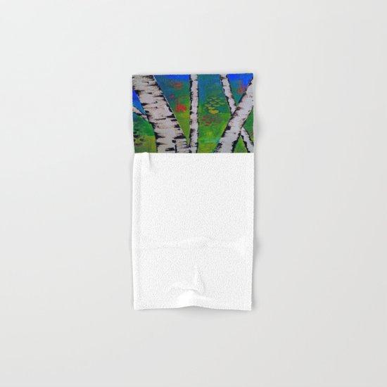 Blue Birch Hand & Bath Towel