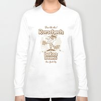 rorschach Long Sleeve T-shirts featuring Rorschach by Giovanni Costa