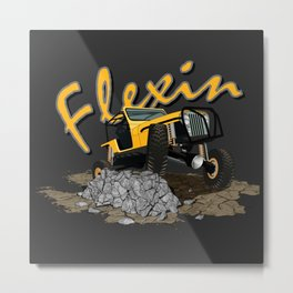 Rock Crawler Metal Print