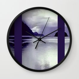 River View VI Wall Clock