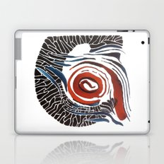 Horn-swirl Laptop & iPad Skin