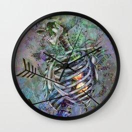 Time Skeleton Wall Clock