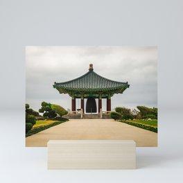 Korean Bell of Friendship Mini Art Print