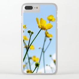 Buttercups Clear iPhone Case