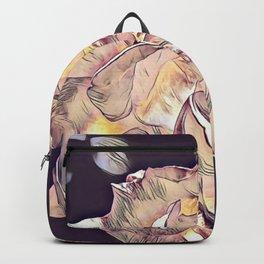 Flower Rose Backpack