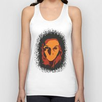 horror Tank Tops featuring Horror by Square Lemon