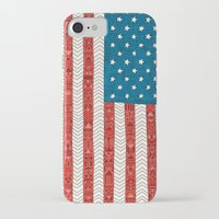 usa iPhone & iPod Cases featuring USA by Bianca Green