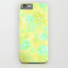 Blossoms Retro Citrus iPhone 6s Slim Case