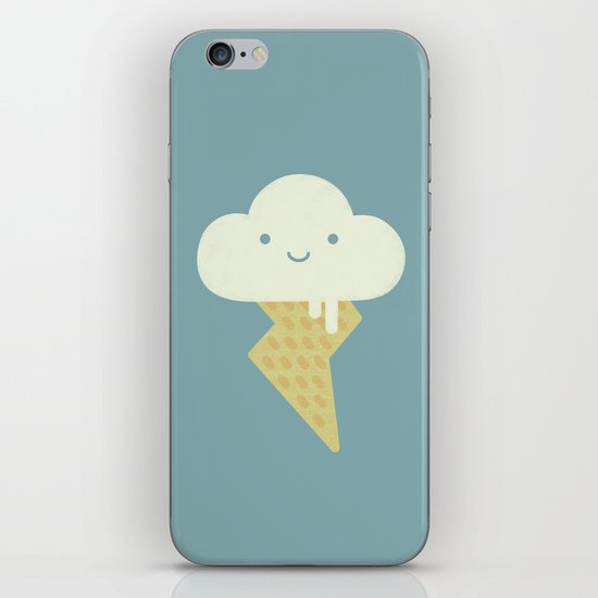 Stormy and Sweet iPhone & iPod Skin