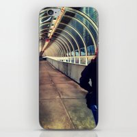 onward iPhone & iPod Skins featuring Onward Into The Tunnel Forbidden  by AJ Calhoun