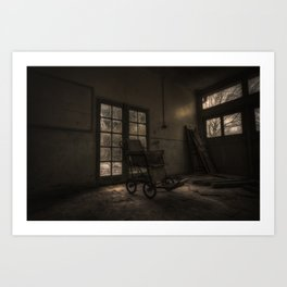 Come in and stay a while Art Print