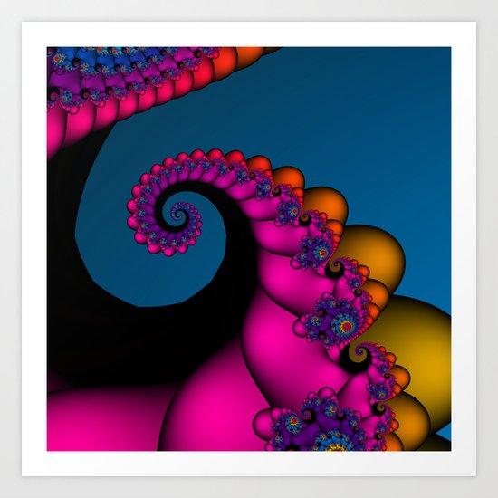 polychromatic dreams Art Print