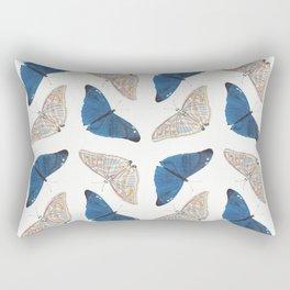 Butterfly Collage II Rectangular Pillow