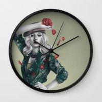 revolution Wall Clocks featuring Revolution by Shusei Mochizuki