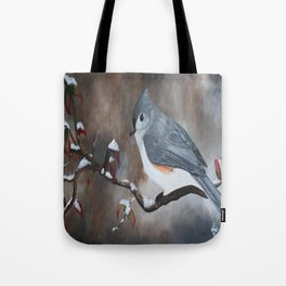 A Tuft Winter Tote Bag