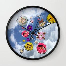 animalflowers amok Wall Clock