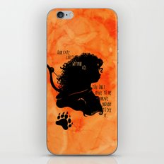 Our Fate Lives Within Us iPhone & iPod Skin
