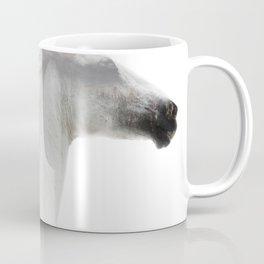 Double Exposure horses Coffee Mug
