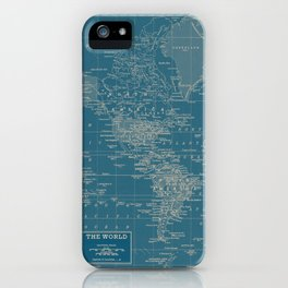 The World According to US iPhone Case
