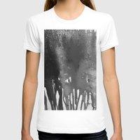 bleach T-shirts featuring Bleach B&W by Sparky