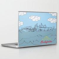 zissou Laptop & iPad Skins featuring Zissou Boat by Jarom Ward