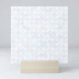 snowflakes Mini Art Print