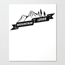 Mountain Lover Gift Canvas Print