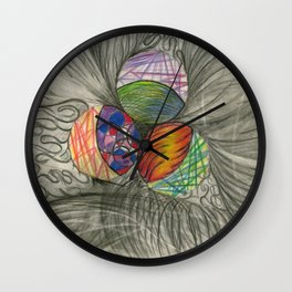 Draw What You Think Wall Clock