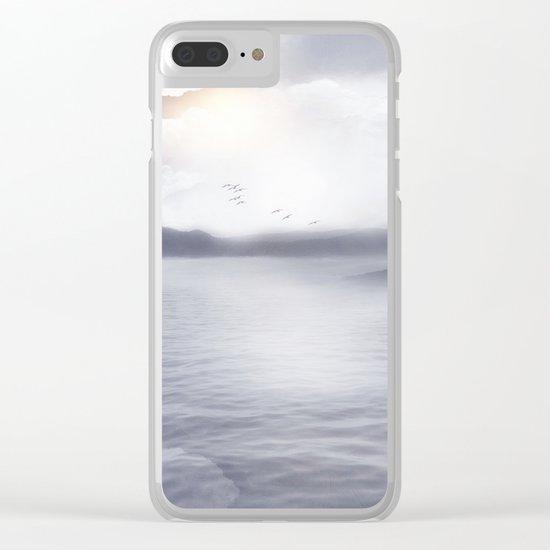 Magic in the Clouds III Clear iPhone Case