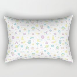 Cute bright space! Rectangular Pillow
