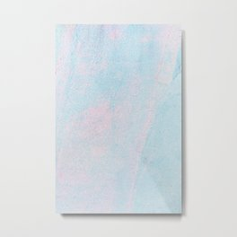 Cotton Candy Painting Metal Print