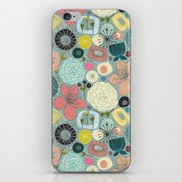 oriental blooms iPhone Skin