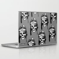 kindle Laptop & iPad Skins featuring 102 by ALLSKULL.NET