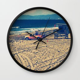 Lifeguard On Duty Wall Clock