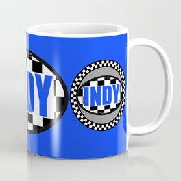 "INDY Oval ""Sticker"" Coffee Mug"