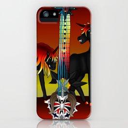 Fusion Keyblade Guitar #189 - Unicornis' Keyblade & Twilight Blaze iPhone Case