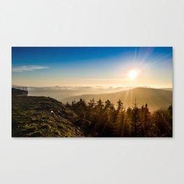 Loving sunrise Canvas Print