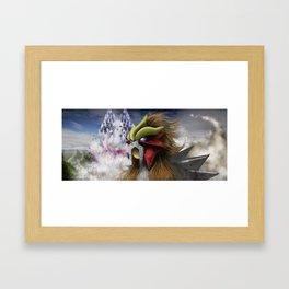 Entei Framed Art Print
