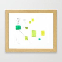 paper_5 Framed Art Print
