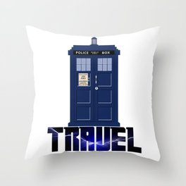 Doctor Travel Throw Pillow