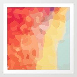 Graphic C6 Art Print