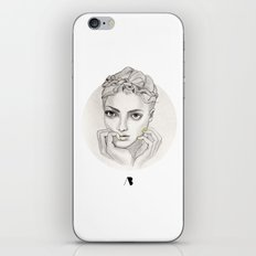 MY FAIR BRAIDY // CIRCLE iPhone Skin