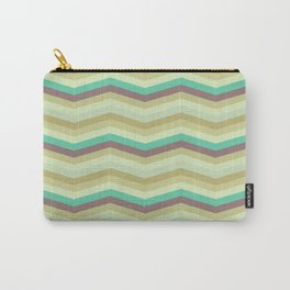 Chevron pattern Carry-All Pouch