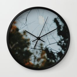 Moon Blur Wall Clock