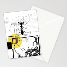 Ant In His Universe Stationery Cards