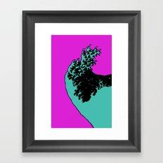 wave rider no.4 Framed Art Print