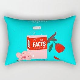 Facts 2.0(Blue) Rectangular Pillow