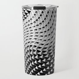 Wavy Structure Travel Mug