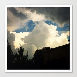 Kingdom in the sky Canvas Print