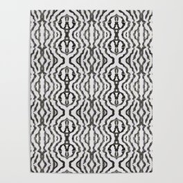 Black Coral Weaving Poster